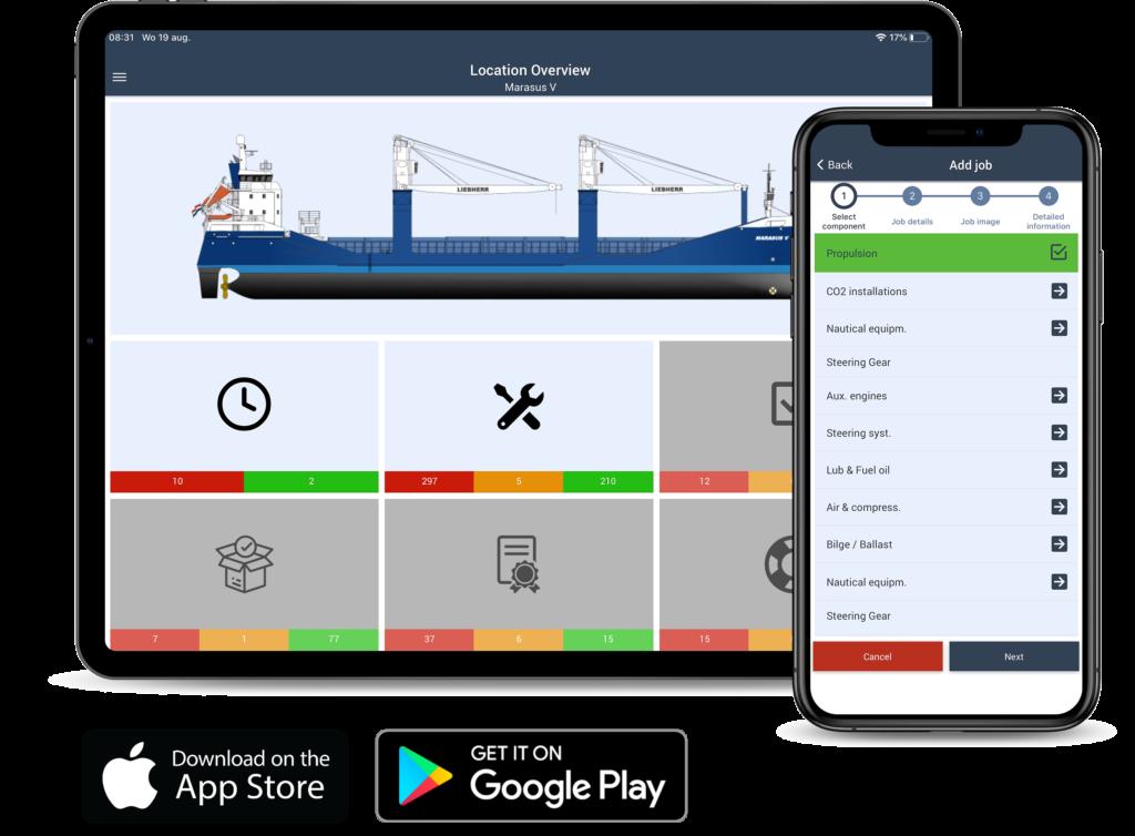 Marad App on iPad and iPhone